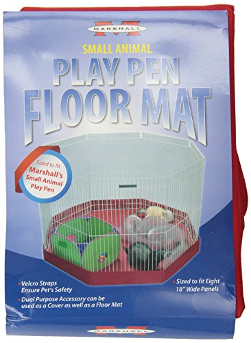 Small Pet Animal Playpen (Marshall FC-261 Small-Animal Play Pen Mat/Cover)