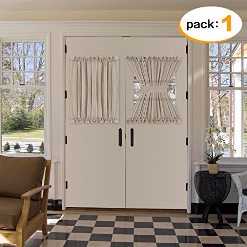 door panel curtains double rod - 2