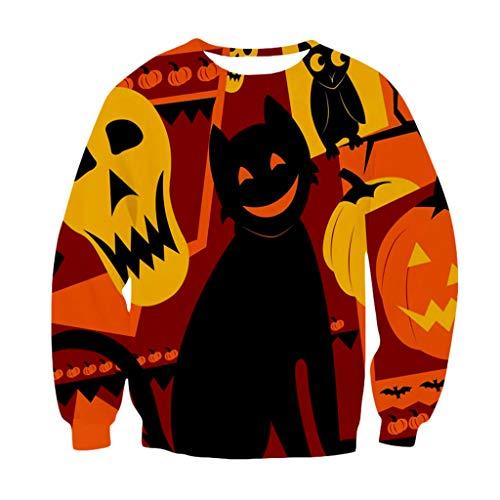 Scary Spice 90s Costumes - FEDULK Women Men Halloween Costume Pullover