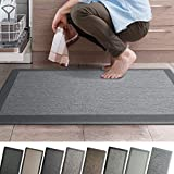"iCustomRug Ergonomic Anti Fatigue Mat, for Comfortable Standing in Kitchen, Bathroom, Workstation Memory Foam Mat in Granite 39""×20""×0.75"" (L×W×H)"