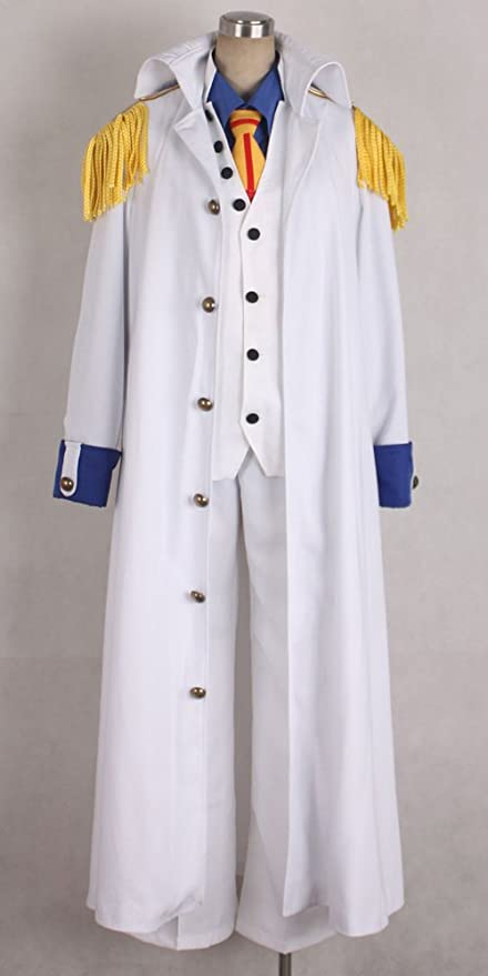 Onecos One Piece Aokiji Kuzan Navy Admiral Cosplay Costume & Amazon.com: Onecos One Piece Aokiji Kuzan Navy Admiral Cosplay ...