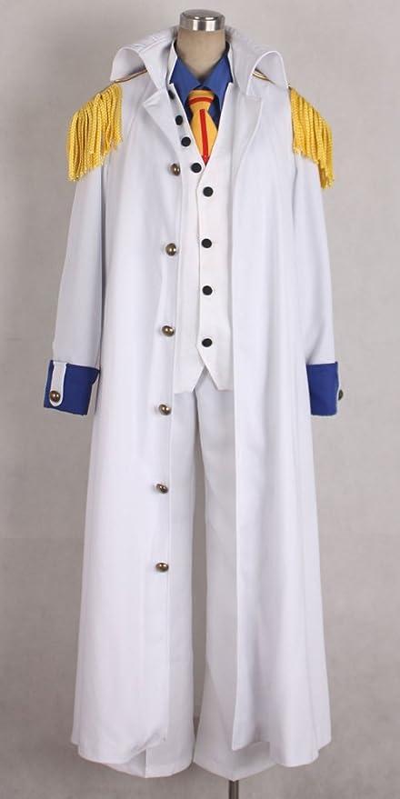 Amazon Com Onecos One Piece Aokiji Kuzan Navy Admiral Cosplay