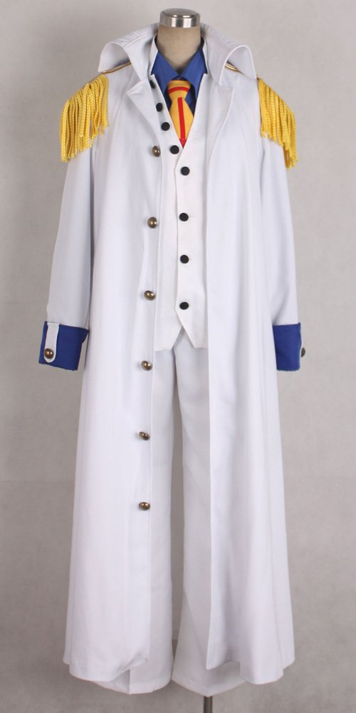 Onecos One Piece Aokiji Kuzan Navy Admiral Cosplay Costume
