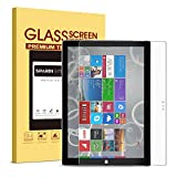 PC Hardware : Surface Pro 3 Screen Protector [Tempered Glass],SPARIN [Explosion-proof] [Repeatable Installation] Glass Screen Protector for Microsoft Surface Pro 3 12 Inch, Not for Microsoft Surface 3 10.8 Inch