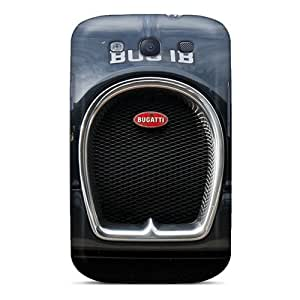 For Galaxy S3 Protector Case Bugatti Veyron Phone Cover
