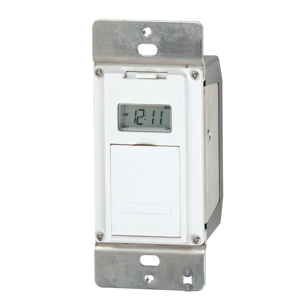 Intermatic EJ500 Indoor Digital Wall Switch Timer - Electrical Timers -  Amazon.com
