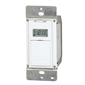 Digital Light Switch Timer: Intermatic EJ500 Indoor Digital Wall Switch Timer,Lighting