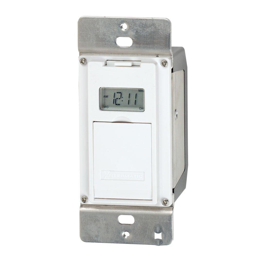 Intermatic EJ500 Indoor Digital Wall Switch Timer