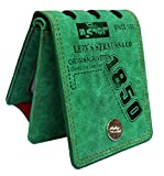 AlexVyan Special Green Lock Design Color Stylish Bi Fold Wallet Men's Gents Boy's Wallet Purse- Best Gift