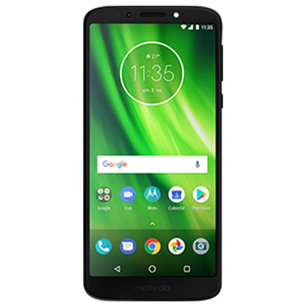 "Motorola Moto G6 (32GB, 3GB RAM) Dual SIM 5.7"" 4G LTE (GSM Only) Factory Unlocked Smartphone International Model XT1925-2 (Deep Indigo)"