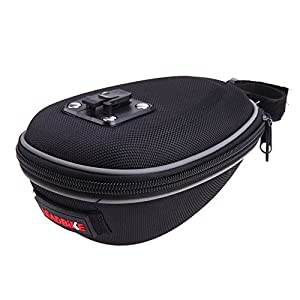 Alloet Nylon Material Bicycle Bag Cycling Seat Package Rainproof and Shockproof Bike Seat Pouch