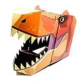 Action Dinomask: 3D Paper Dinosaur Mask for