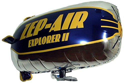 Indoor Rc Blimp (ZEP-AIR Explorer RC Blimp Indoor Zeppelin Helium Party Balloon Electric)