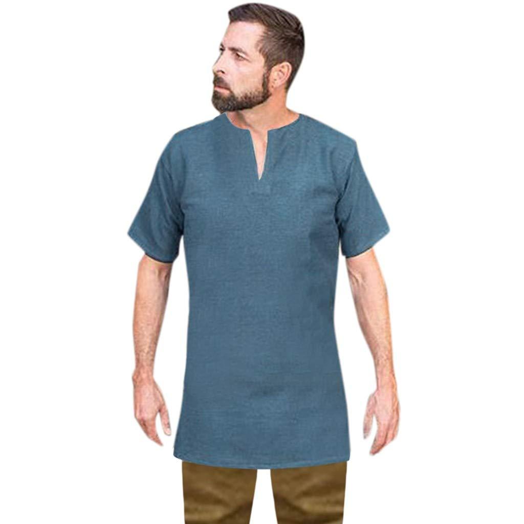 Gusspower Camiseta Vintage Manga Corta para Hombre, Camisa ...