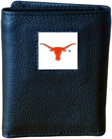 Siskiyou NCAA Deluxe Leather Tri-Fold Wallet
