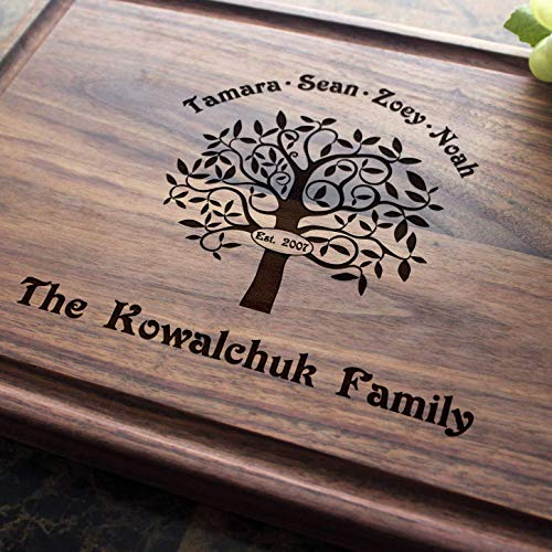 Personalized Cutting Board, Custom Keepsake, Engraved, Wedding, Anniversary, Engagement, Housewarming, Birthday, Corporate, Closing Gift #402