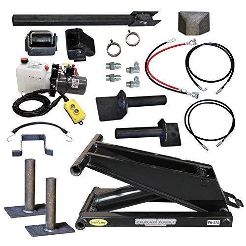 Hydraulic Hoist Kit- 20,000 lbs- Dump Trailer- 12V- Scissor Hoist Kit Complete. ()