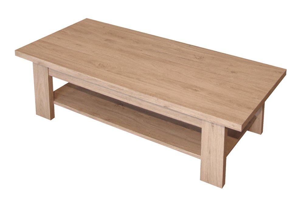 Berlenus Coline Table Basse Décors Chêne Naturel 111 x 51,5 cm