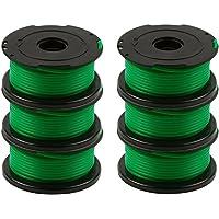 Chuancheng 6 Stks Groene Trimmer Spool Lijnen Voor Black & Decker GL7033 GL8033 GL9035 String Trimmer Strimmer A6482