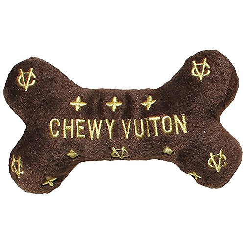 Dog Diggin Designs Runway Pup Collection | Unique Squeaky Plush Dog Toys - Prêt-à-Porter Dog Bones, Balls & More ()