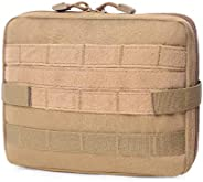 Azarxis First Aid Pouch, Tactical MOLLE Rip-Away EMT Medical IFAK Utility Bag Emergency Survival Gear for Hiki