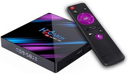 Oldhorse Caja portátil portátil Duradera Mini TV Caja HD Multimedia ...