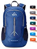 Venture Pal 25L - Durable Packable Lightweight Travel Hiking Backpack Daypack Small Bag for Men Women Kids (Navy)