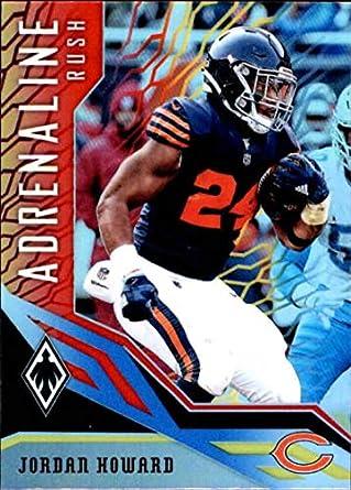 814a1fbd717 Amazon.com: 2018 Panini Phoenix Adrenaline Rush Color Burst #20 Jordan  Howard Chicago Bears NFL Football Trading Card: Collectibles & Fine Art