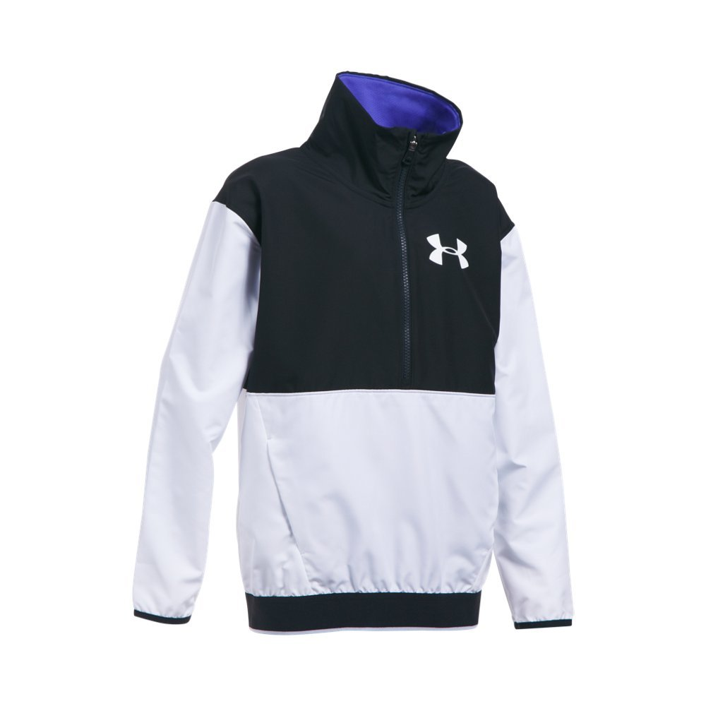 Under Armour Girls' Boat House Jacket,White (100)/White, Youth Small by Under Armour