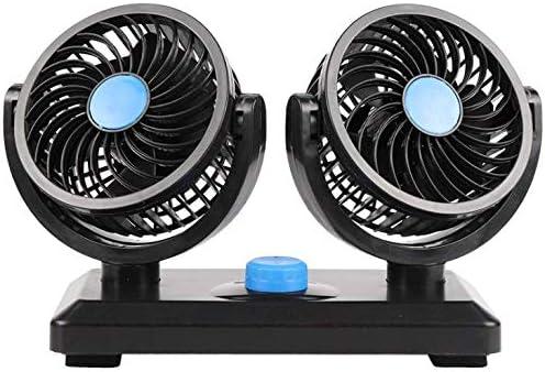 Maso - Ventilador de coche eléctrico de 12 V para salpicadero de ...