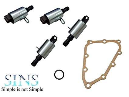 Amazon com: SINS - CR-V Transmission Shift Solenoid Kit(4pcs
