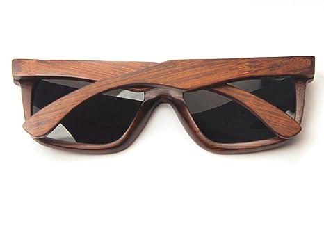 jinyuebrand 100% bambú Gafas de Sol con protección UV400 ...