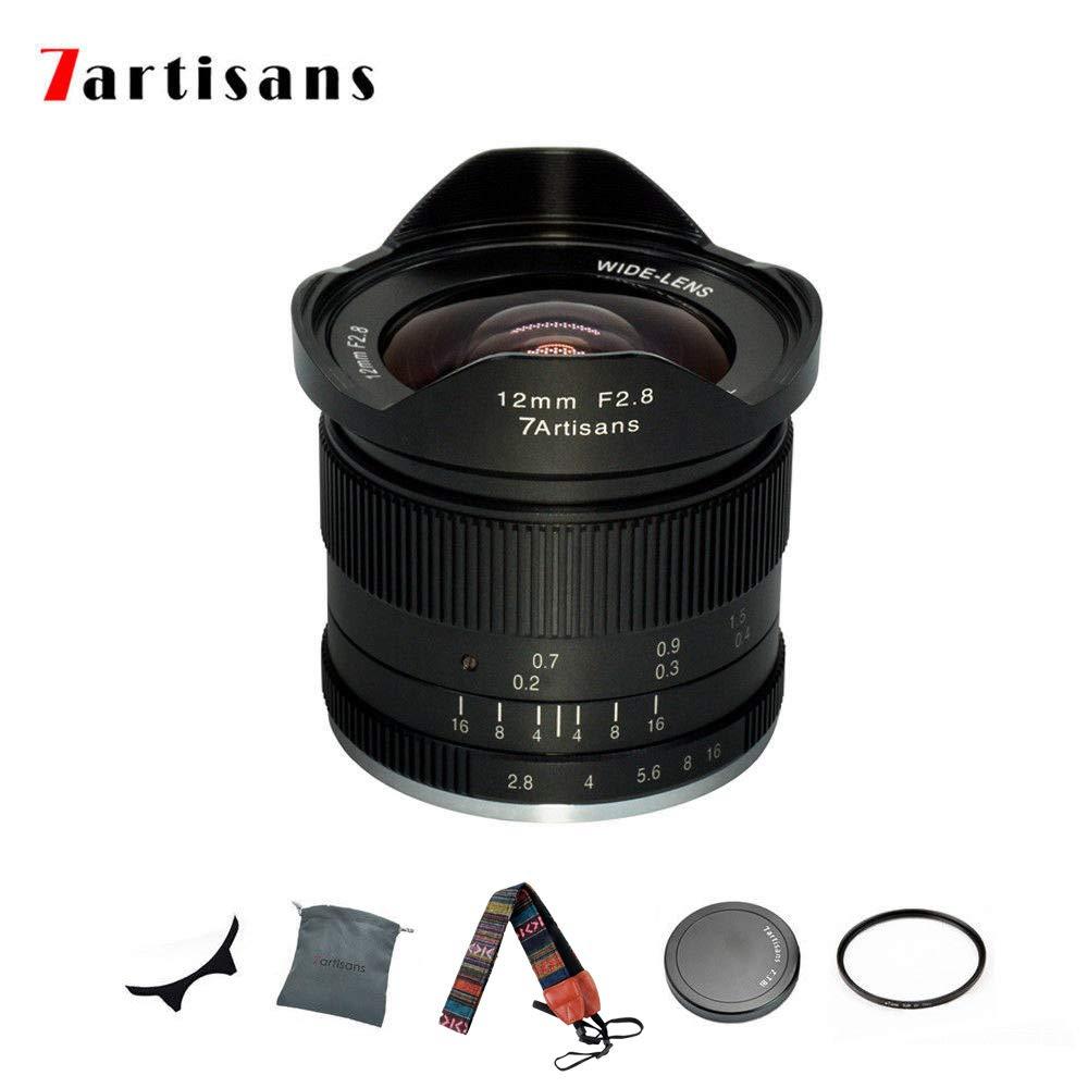 7artisans 12mm F/2.8 レンズ M43 Mount For Panasonic Olympus Micro 4/3 Cameras GH4   B07KMVP3Y9