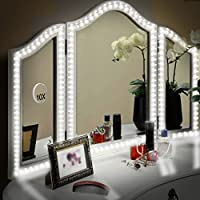 LUNSY 13 ft LED Vanity Mirror Lights Kit for Makeup Dressing Table Set