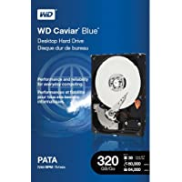 WD  Caviar Blue 320 GB PATA 8 MB Cache 3.5-Inch Internal Retail Kit Drive - WDBAAV3200ENC-NRSN