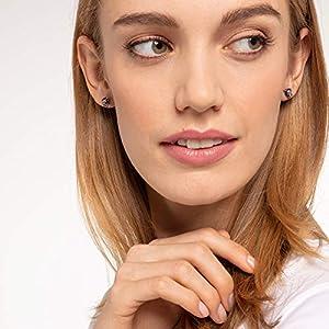 Thomas Sabo Unisex Sterling silver Cubic Zirconia Stud Earrings – H2110-845-11