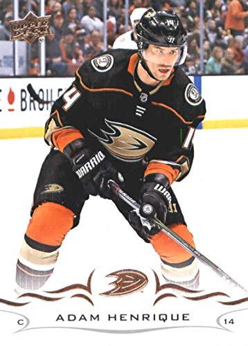 2018-19 Upper Deck #1 Adam Henrique NM-MT Anaheim Ducks Official NHL Hockey Card