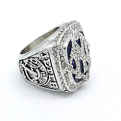 2009 World Series Ring - Father's Day World Series New York Yankees Derek Jeter 2009 Championship Replica Ring Size 11 Gifts Men Fans