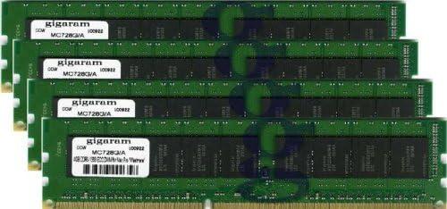 4x4GB DDR3-1333 ECC DIMM for Apple Mac Pro 12-Core 2.66Ghz Intel Xeon Westmere Apple# 4 x MC728G//A Gigaram 16GB
