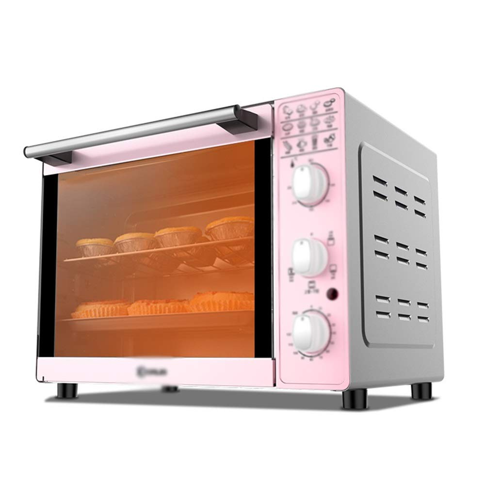 HATHOR-23 Mini Oven Home Multi-function Electric Oven 33L Multi-function Household Baking 4 Tube Up And Down Temperature Control Temperature Fork Electric Oven Kitchen Electric Oven