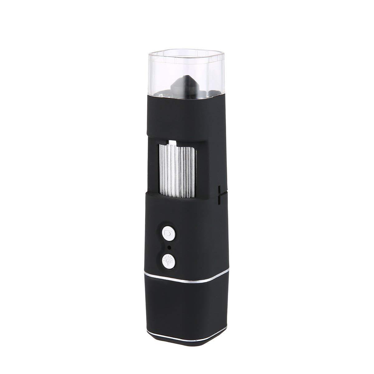 Gugutogo HD portátil inalámbrico USB 50x WiFi H65 Digital 50x USB a 1000x Microscopio Negro H65 0fae21