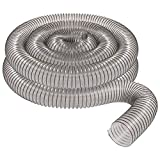 4'' x 20' CLEAR PVC DUST COLLECTION HOSE BY PEACHTREE WOODWORKING PW376