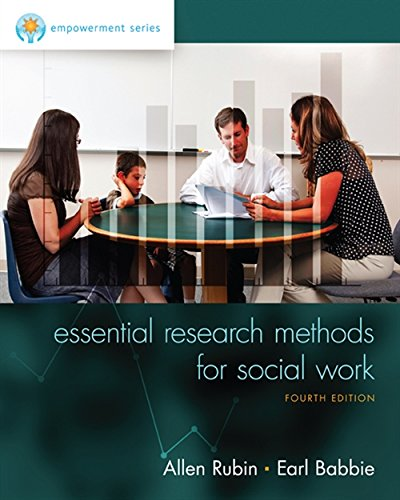 Empowerment Series Essential Research Methods For Social Work MindTap Course List 4th 2015