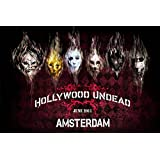 Wall Poster Custom Wallpaper Hollywood Undead Hard Rock Mask 04 Prints Posters 50x75cm Home Party Decor