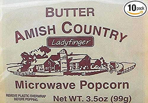 Amish Country Microwave Popcorn Ladyfinger product image
