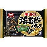亀田製菓 海苔ピーパック 89g×6袋