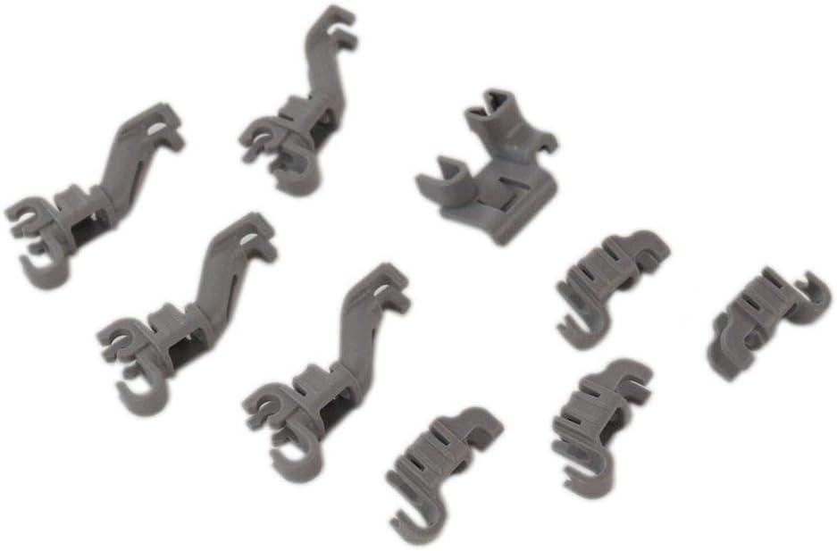 Bosch 00632372 Dishwasher Tine Row Pivot Clip Genuine Original Equipment Manufacturer (OEM) Part