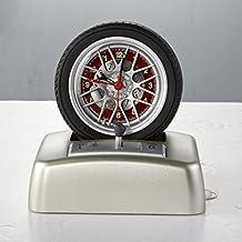 GJX Rotary Tire Modeling Engine Sound Alarm Clock Turn Clock Creative Gift Alarm Clock