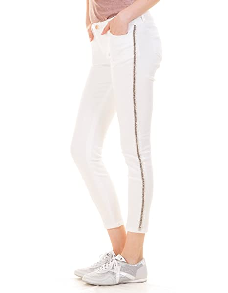 Morgan de Toi Pantalones Blancos Pedreria (Blanco - 42 ...