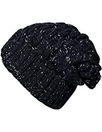 Mens Winter Warm Knitting Hats Wool Baggy Slouchy Beanie...